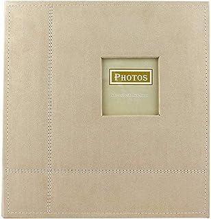 Rénovation de la maison Mobilier Album photo auto-adhésif en daim cousu Album photo bricolage Album de scrapbooking Pages ...