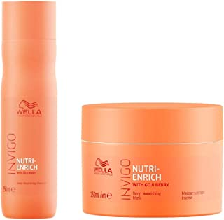Wella Invigo Nutri Enrich With Goji Berry (Shampoo + Mask)