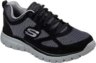 Skechers Zapatillas para Hombre 52635-BKGY_41,5, Color Negro, Talla 41,5 EU