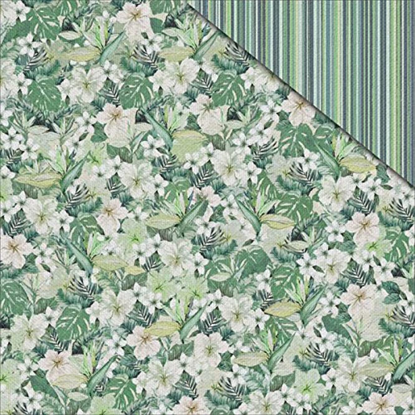 Jungle Mist Double-Sided Cardstock 12