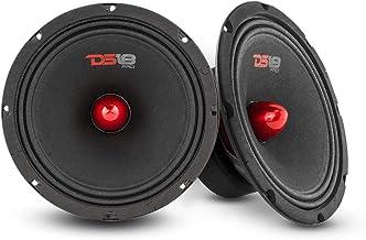"$79 » DS18 2X PRO-GM8.4B Loudspeaker - 8"", Midrange, Red Aluminum Bullet, 580W Max, 4 Ohms,1.5"" Kapton VC Premium Quality Audio ..."