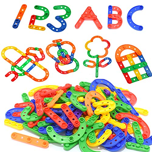STEM Building Blocks Toys for Kids - Creative Educational Engineering Building Construction Blocks Kit Best Birthday for Kids Age 3 4 5 6 7 8 9 10 Years Old Boys Girls