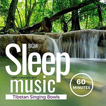 Sleep Music with Waterfalls and Tibetan Singing Bowls