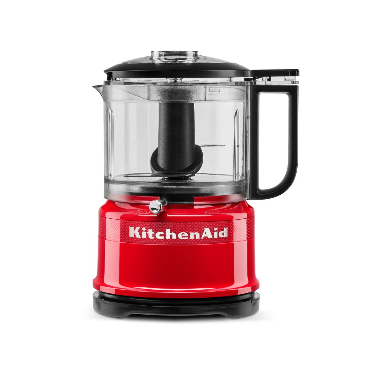 KitchenAid 5KFC3516H - Robot de cocina (0,83 L, Negro, Rojo, Botones, palanca, 3450 RPM, 0,83 L, Mezcla, Mezcla, Puré): Amazon.es: Hogar