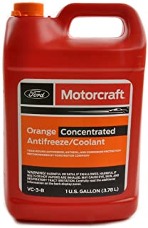 Genuine Ford Fluid VC-3-B Orange Concentrated Antifreeze/Coolant - 1 Gallon