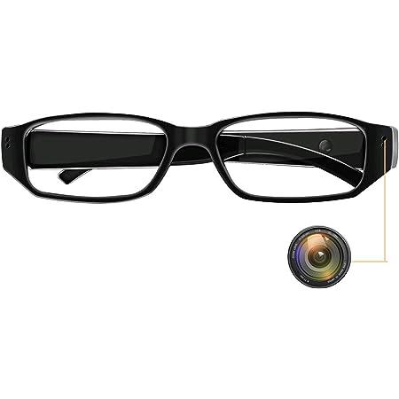 Monkaim Brille Mit Versteckter Kamera 1080p Tragbar Videorekorder Videorekorder Foto Und Audio Aufnahmen Für Innen Und Außen Baumarkt