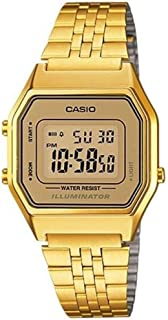 Casio Women's Ladies Mid Size Tone Digital Retro Watch La 680Wga 9Df