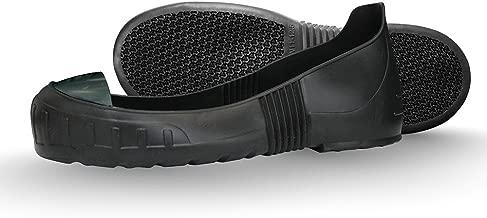 MEGAComfort (Non-Steel) Composite Toe Overshoe, Prop 65 Compliant PVC + Composite Toe Cap, XL, Mens 11.5-13, Black