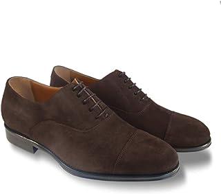 Leyva -Zapatos de Hombre Serraje inglés Modelo Denis - Fabricación Artesanal