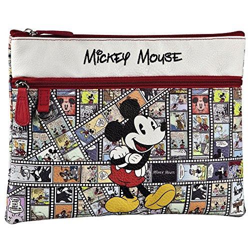 Disney Étui pour Tablette Mickey Film, Rouge