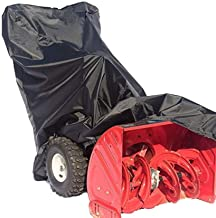 RockyMRanger Universal Snow Thrower Cover Waterproof,UV Protection,for Most Electric Two Stage Snow Blowers with Carry Bag...