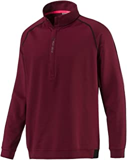 PUMA 576120 Men's Pwr Warm 1/4 Zip Popover Shirt, Medium, Quarry