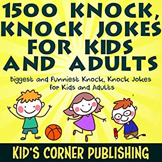 1500 Knock, Knock Jokes for Kids and Adults cover art