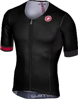 Castelli Free Speed Race Tri Jersey - Men's Black, L