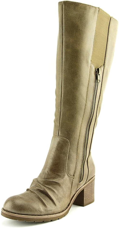 Bare Traps Womens DALLIA 2 Closed Toe Mid-Calf Riding Boots