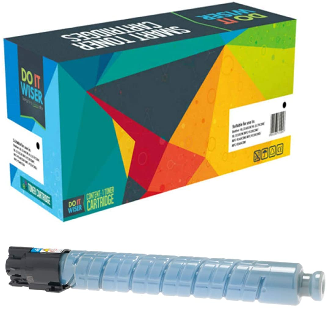 Do it Wiser Compatible Toner Cartridge Replacement for Ricoh MP C307 MP C306 MP C406 MP C407   842092 (Cyan)