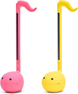 """$49 » Otamatone""""SPECIAL COLOR COLLECTION SET"""" [Hot Pink + Yellow] Japanese Electronic Musical Instrument Portable Synthesizer from Japan by Cube/Maywa Denki [Japanese Edition]"""