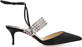 Christian Louboutin Women's 3190670CM47 Black Leather Heels