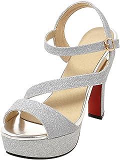 4b8db367 Amazon.es: Zapatos Tacon Ancho - Hebilla / Zapatos: Zapatos y ...