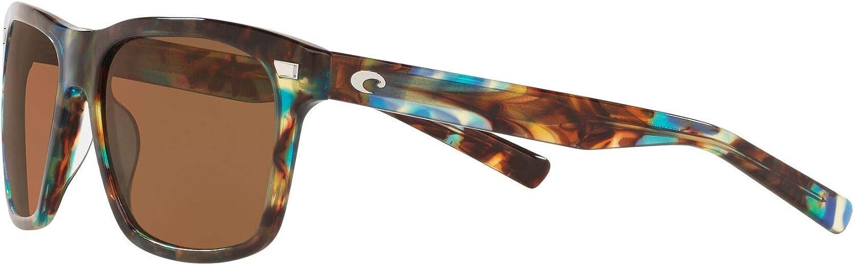 Costa Del Mar Men's Aransas Round Sunglasses