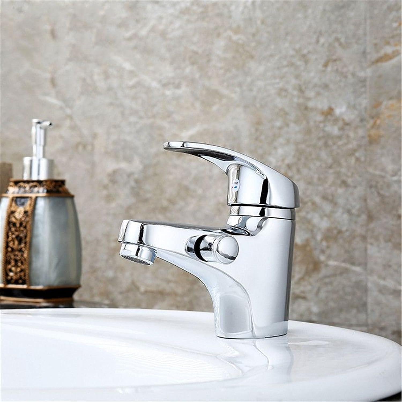 Küchenarmatur Waschtischarmatur Wasserfall Wasserhahn Bad Mischbatterie Badarmatur Waschbecken Kupfer heien und kalten Wasserhahn Einhand-Doppelsteuerung Wasserhahn Becken Einloch-Doppelhahn