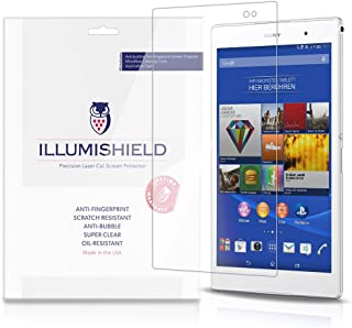 Back Protector Compatible with Sony Xperia Z1 Clear HD Shield Anti-Bubble and Anti-Fingerprint PET Film 3-Pack iLLumiShield Front