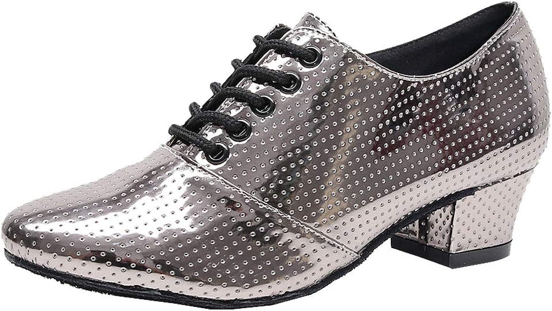 Vimedea Womens Comfort Practice Beginner Latin Ballroom Breathable Salsa Dance shoes 7157