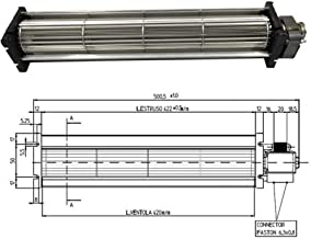 Emmevi Fergas 138551 - Ventilador tangencial para estufa de pellets Tga 60/3-420/20 (25 W)
