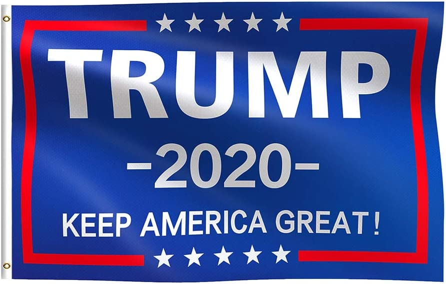 Trump 2020 Flag Donald Flags Over item handling President-Keep Amer for Our shop most popular