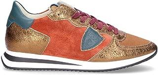 Philippe Model Luxury Fashion Womens TZLDDM05 Orange Sneakers | Fall Winter 19