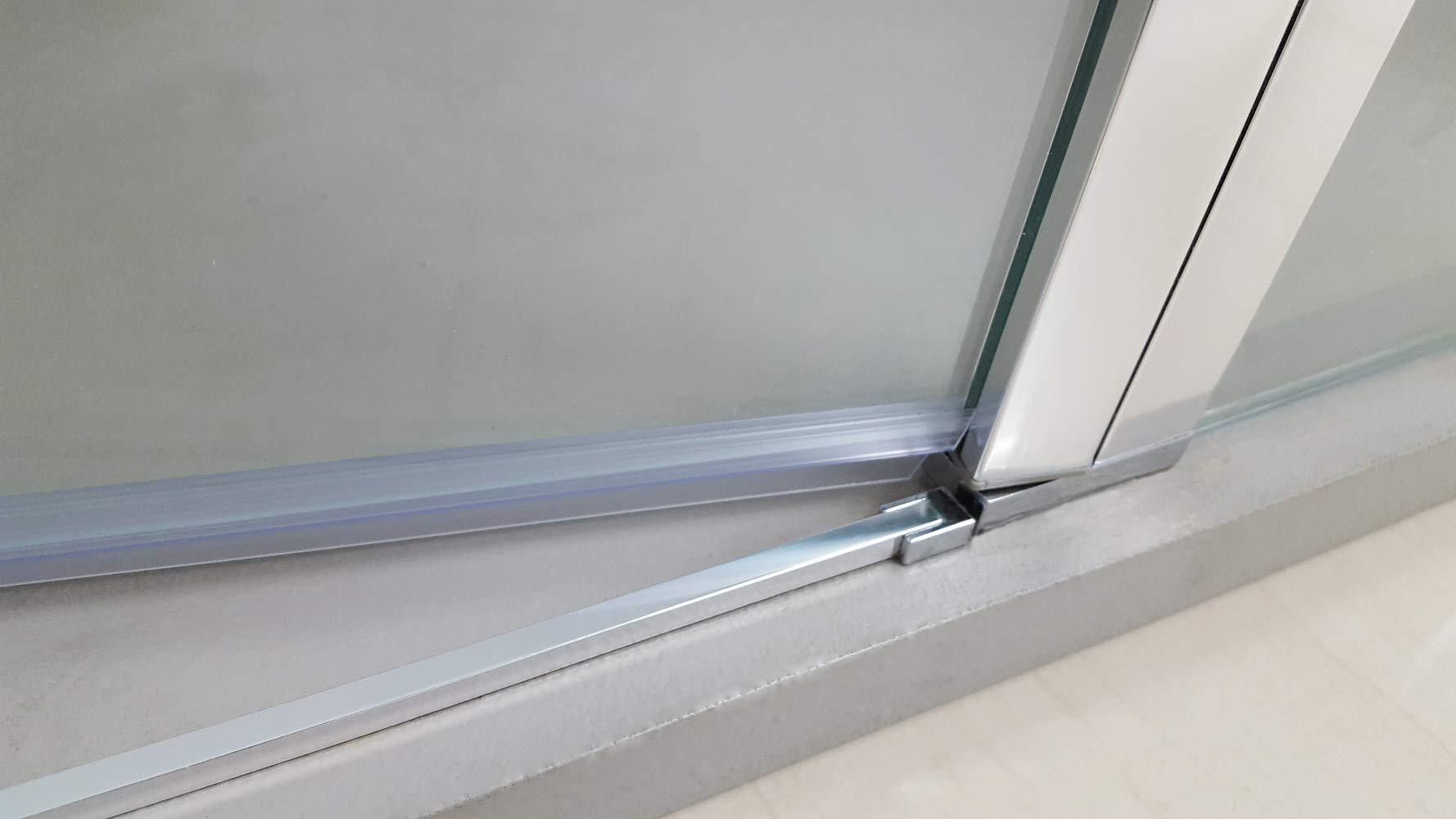 Mamparas de Ducha - GME modelo OPEN - Puerta Abatible Cierre ...