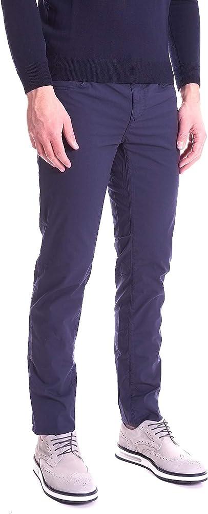 Trussardi jeans, pantalone per uomo 370 close, super leggero ed elasticizzato,98% cotone, 2% elastan 52J00007-1T003733-U290-PE20-31