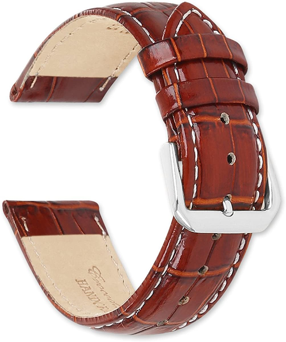 deBeer Ranking TOP13 Brand Crocodile Grain Watch Band Silver Gold 2021 new Buckle -