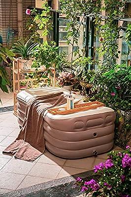 ThermaeStudio -Foldable Bathtub for Adult -Spabathtub | Portable | Mintgreen