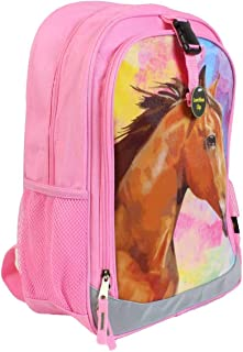 John Deere Horse Pink Child's Backpack