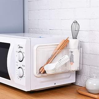 OBOR Home & Kitchen Magnetic Storage Rack Fridge Strong Magnetic Microwa Oven Washer Refrigeratveor Small Sundries Scissors Peeling Knife Plastic Wrap Organizer, 10