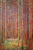 Close Up Gustav Klimt Poster Tannenwald (61cm x 91,5cm)