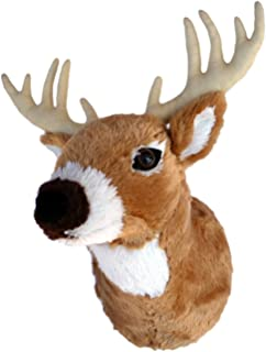 plush deer mount