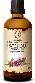 Aceite Esencial de Patchouli 100 ml - Pogostemon Cablin - 100% Puro Aceite de Patchouli - Aceite de Patchouli para Aromate...