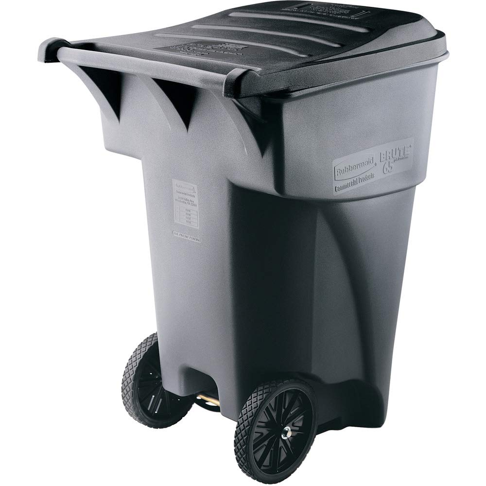 Rubbermaid Commercial Products Fort Worth Mall Brute Rollout Heavy-Duty Classic Co Waste