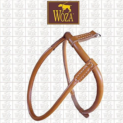 Woza Premium Chow-Chow Geschirr GRÖßE 60 SATTLERNAHT Vollleder Rindleder Handmade Harness