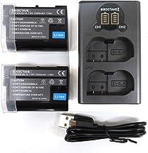 EN-EL15a EN-EL15 EN-EL15b ニコン NIKON 互換バッテリー2個とUSB充電器デュアルバッテリーチャージャー MH-25/MH-25a のセット D500/D810A/D750/D810/D800/D800E/D60...