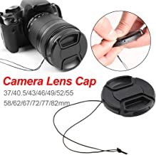 67mm Lens Cap Center Snap on Lens Cap Suitable Suitable &for Nikon &for Canon &for Sony Any Lenses with Ø 67mm Camera