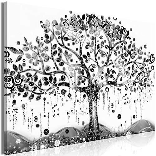 murando Cuadro en Lienzo Arbol 120x80 cm impresión en Material Tejido no Tejido impresión artística fotografía Imagen gráfica decoración de Pared - Gustav Klimt Abstracto b-A-0455-b-a