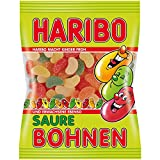 4x Haribo SAURE BOHNEN each Bag 200g (German Import)