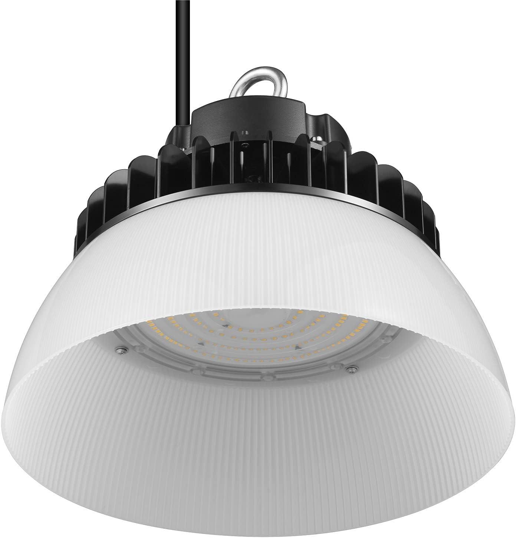GRANDLUMEN 100W LED High Bay Quality inspection UFO 5000K Light ETL Certified Fashionable Day