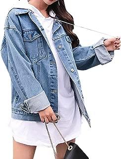Jean Jacket Womem, Denim Jacket Men, Boyfriend Jacket Denim Oversized, Pockets Inside - Long Sleeves - Loose Fit