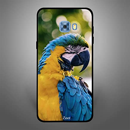 Samsung Galaxy C5 Yellow Blue Parrot