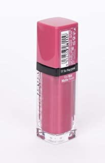 Bourjois Rouge Edition Velvet Matte Finish Lipstick 11 So Hap'pink 7.7ml