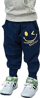 Quần dành cho bé trai – Boy's Super Soft Sweat Pants Smile Print Trousers